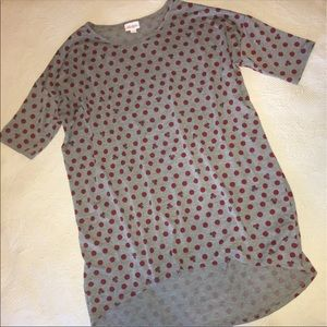 Lularoe disney Irma gray casual lounge shirt small